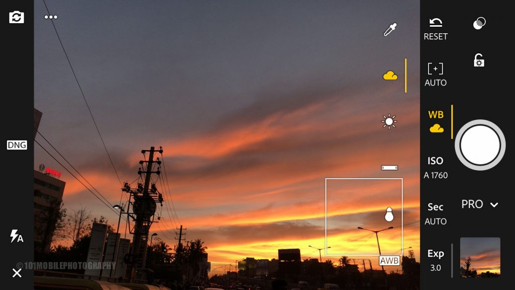 Set White Balance in your smartphone camera like DSLR